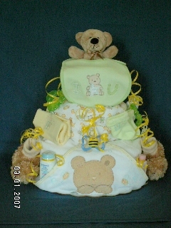 Bear Three-Layer Cake