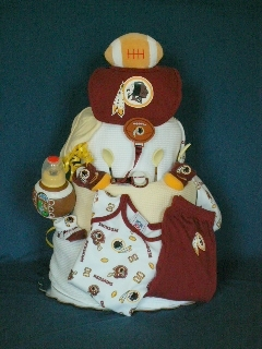 Redskins Four-Layer Cake